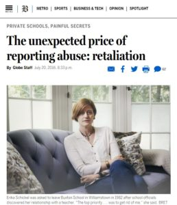 The unexpected price of reporting abuse: retaliation